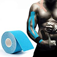 joizo Kinesiology Tape For Athletes Relieve Muscle Pain And Injury Recovery Muscle Bandage Elastic Breathable Cotton Water Resistant Strong Adhesive Sport Tape