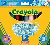 Best Crayola Juguetes ¡4 años - Crayola 8329 - 12 Rotuladores Gruesos Ultra Lavables Review