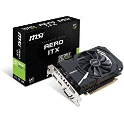 MSI GTX 1050 TI Aero ITX 4G OCV1 Carte Graphique Nvidia GeForce GTX PCI Express