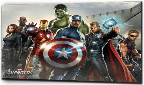 Plush Marvel-los héroes Los Vengadores cuadros impresión
