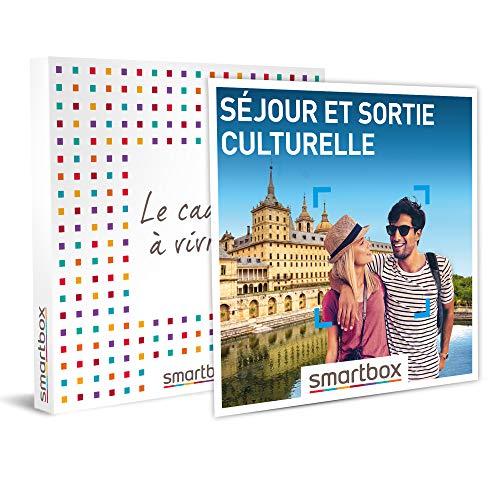 SMARTBOX - Coffret cadeau - Séjour et sortie culturelle - idée cadeau - 1 nuit avec...