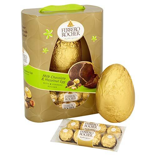 Preisvergleich Produktbild Ferrero Rocher Verpackt Ei 275g mit 8 Rocer Teile