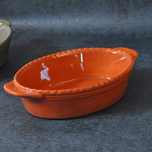 simple-fruit-oval-ceramic-underglaze-binaural-bathtub-cubicle-basinorange