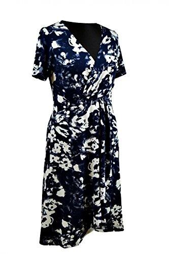 Berry Damen Sommerkleid 1/2-Arm mit Rüschen Gr. 40-52 Blumenmuster
