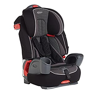 Graco Nautilus Harnessed Booster Car Seat Group 1/2/3, Gravity  Adjustable safety cushion: More comfort and freedom of movement 2-in-1 seat: Can be used for up to 11 years 8