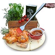 Kreative Kraft - Pennello da cucina in acciaio inox professionale