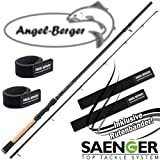 Sänger Specialist Zander 20-65g Spinnrute mit Angel Berger Rutenband (2,10m / 20-65g)