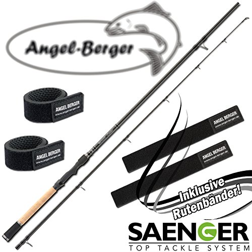 Angel-Berger Sänger Specialist Zander 20-65g Spinnrute Rutenband (2,10m / 20-65g)