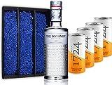 Gin Tonic Set Geschenkset - The Botanist Islay Dry Gin 70cl (46% Vol) + 4x 1724 Tonic Water Dose 200ml -[Enthält Sulfite]