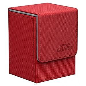 Ultimate Guard 10217 Êltimo Protector del Caso del tirón de la Cubierta Tamaño estándar 80 Xenoskin Guardia Roja último
