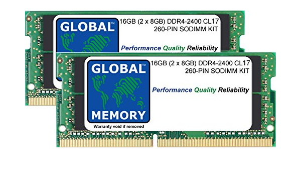 16gb Ddr4 2400mhz Pc4 19200 Work 260 Pin Sodimm Computers Accessories
