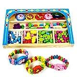 #8: Jewellery Making DIY Kid Pop String Beads Toy Fashion Girls Accessories Toy Set by Akrobo