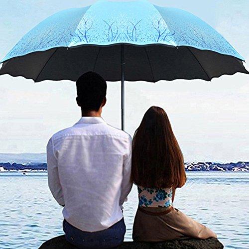 Paraguas Grande Doble Reforzada Mujeres Lluvia Y Lluvia Pequeño Limpiar Sombrilla Protección Solar Paraguas De Gel UV