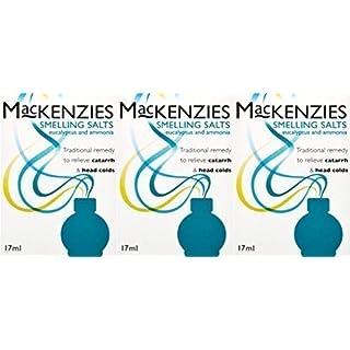 Mackenzies Smelling Salts 17ml x 3 Packs
