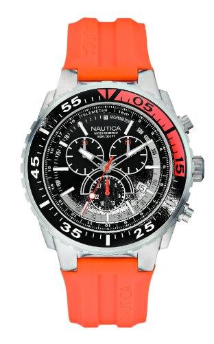 nautica-a14674g-montre-homme-quartz-chronographe-bracelet-silicone-orange