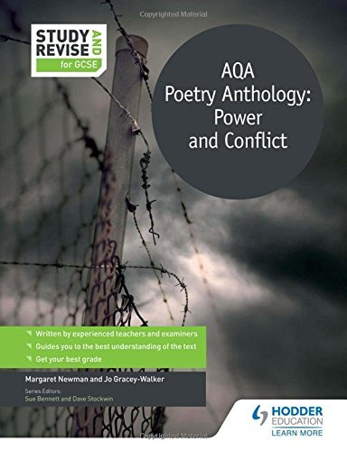 Study and Revise: AQA Poetry Anthology: Power and Conflict for GCSE (Study & Revise for Gcse) by Margaret Newman (2016-05-27)
