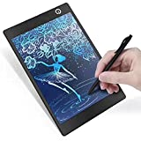 Tavoletta LCD da Disegno Colori 10 Pollici Ewriter Digitale Scrittura Grafica Lavagna Eelettronica Cancellabile Writing Tablet Drawing Pad Regalo per bambini, Insegnante, Studenti, Progettista, Nero