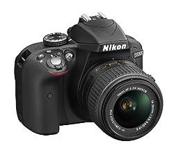 Nikon Fotocamera Nikon D3300 Nera + 18-55mm Vr Ii + 55-200mm Vr Ii