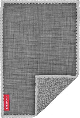 Speedlink Hochwertiges Mikrofasertuch - SILK Cleaning Cloth Cotton (schonende Reinigung von Gehäuse und Display - trockene und feuchte Anwendung - langlebiges, wiederverwendbares Material) Tablet-PCs / Pads Smartphones