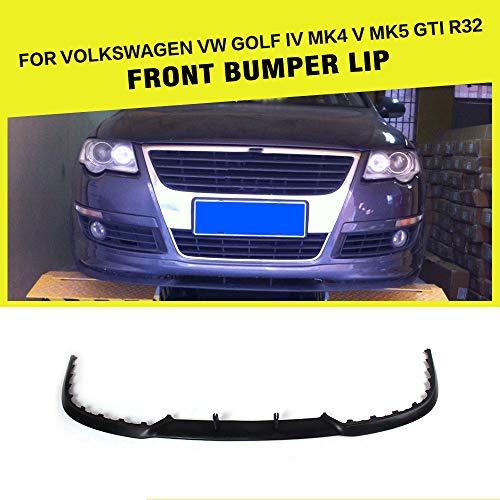 OBCWSG Für Volkswagen Golf 4 iv mk4 Golf 5 v mk5 GTI r32, für Audi a3 s3 a4 s4 a5 s5, pu unlackiert Auto frontschürze lippenspoiler