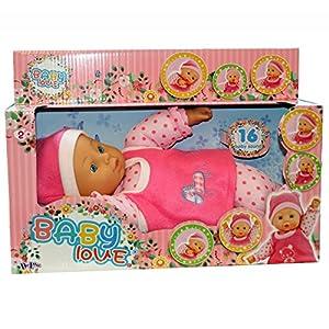Deluxe 38005mi Primer bebé muñeca de Amor con 16Sonidos