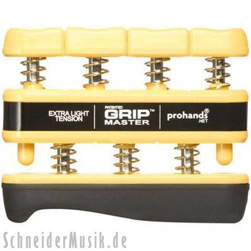 PROHANDS GRIPMASTER AMARILLO   EXTRA LIGHT TENSION