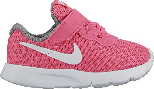 Nike Baby Jungen Tanjun (Tdv) Sneakers, Rosa (Rosa (Hyper Pink / White-Cool Grey)), 25 EU