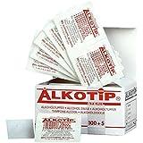 Alko Tip 05004008torunda de alcohol estériles (105unidades)