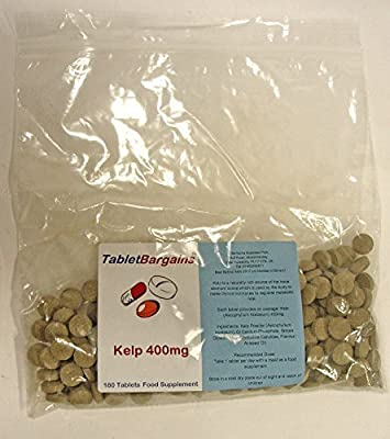 Tablet Bargains Kelp 400mg - 180 Tablets from Club Vits Ltd