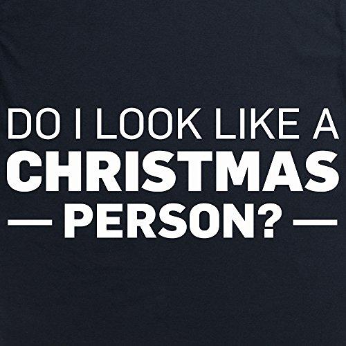 Not A Christmas Person T-Shirt, Herren Schwarz