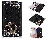 ZeWoo PU Leder Brieftasche - XT012 / (4#) Love + Anchor