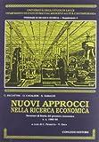 Nuovi approcci nella ricerca economica