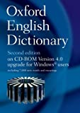 Oxford English Dictionary on CD ROM 4.0 Upgrade for Windows Users