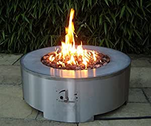 Brightstar arcturus gas fire pit table 18kw lpg amazon for Amazon prime fire pit