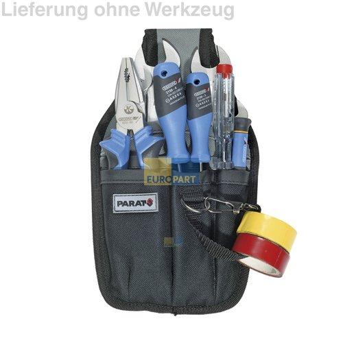 Parat 5990.816-999 ORIGINAL Parabelt Gürteltasche Werkzeuggürtel Tasche Werkzeug Halter mit Druckknopflasche zur Befestigung am Gürtel