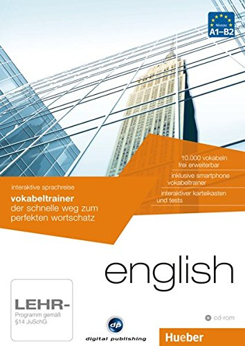 Interaktive Sprachreise: Vokabeltrainer English