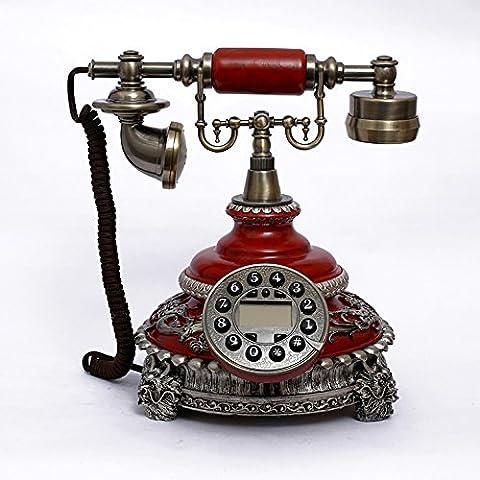 Pierre europeo creativo nuovo high- end telefono fisso di casa della moda retrò Caller ID (High End Telefoni Cordless)