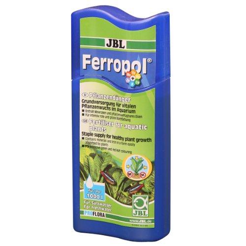 JBL Ferropol 23042 Pflanzendünger für Süßwasser Aquarien, 250 ml