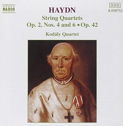 Haydn : Quatuors à cordes Op. 2, n° 4 et 6 - Op. 42