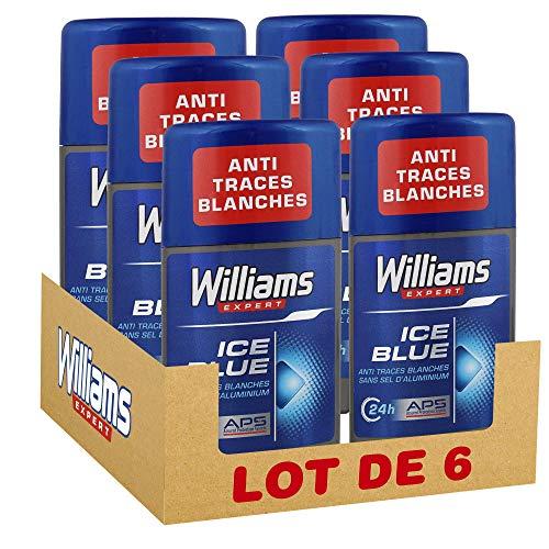 Williams desodorante stick Ice Blue sin alcohol sin