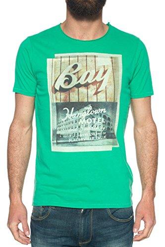 M C S Herren T-Shirt grün grün Grün