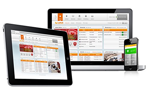 LUPUSEC XT1 Smarthome Funk-Alarmanlage, Starter Pack mit Funk Bewegungsmelder, 2 Türkontakten und Keypad, IP basierte Einbruchmeldeanlage für Ihr Haus, fernsteuerbar via Browser, Tablet oder Smartphone, Wachschutz aufschaltbar - 6