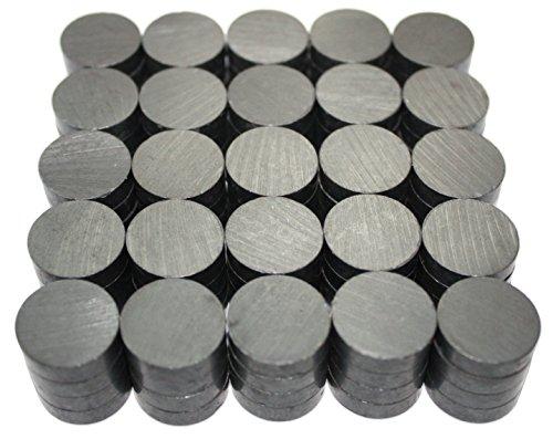 X-bet MAGNET ™ - Keramische Industriemagnete - 18 mm Runde Scheibe - Ferrite Magnete im Großhandel für Handwerk, Wissenschaft & Hobbies – 100St. / Karton!