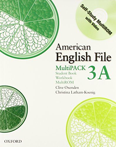 American English File Level 3: American english file multipack Vol. 3A. Per le Scuole superiori