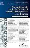 Economie sociale et Social Business ?