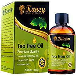 KANZY© - Olio di Albero del Tè - Tea Tree Essential Oil - 100% Pure - 100ml