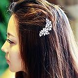 Jovono Pince à cheveux de mariage épingles à cheveux Accessoires Cheveux Oreillette pour femmes et filles