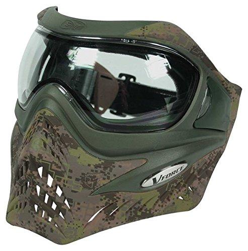 Paintball Maske V-Force Grill Eclipse HDE camo -
