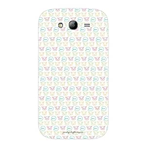 Designer Phone Covers - Samsung Grand Duos 9082-meowcat