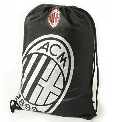 Sporttasche, mit AC-Milan-Motiv, offizielles Produkt, tolles Geschenk für Fußball-Fans